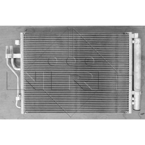 Condensator climatizare, Radiator clima Hyundai Ix35 (Lm, El, Elh); Kia Carens Iv, Sportage (Sl) Nrf 35999