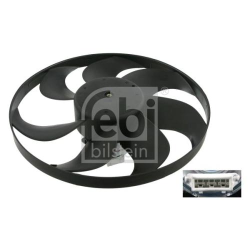 Ventilator radiator GMV Ford Galaxy (Wgr); Seat Alhambra (7v8, 7v9), Arosa (6h); Vw Lupo (6x1, 6e1), Polo (6n1/ 6n2), Sharan (7m) Febi Bilstein 10279