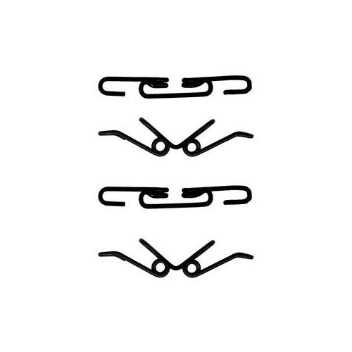 Set accesorii placute frana Delphi LX0315, parte montare : Punte Fata