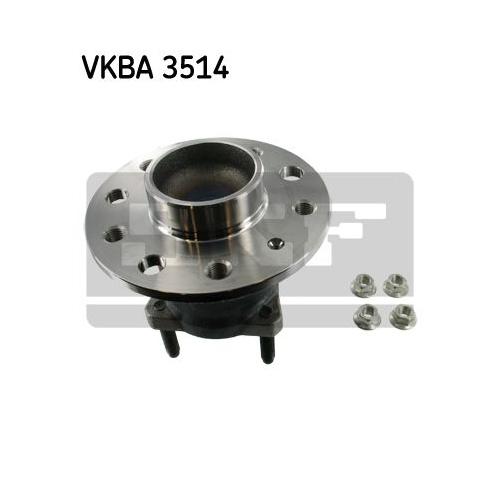 Rulment butuc roata Skf VKBA3514, parte montare : punte spate
