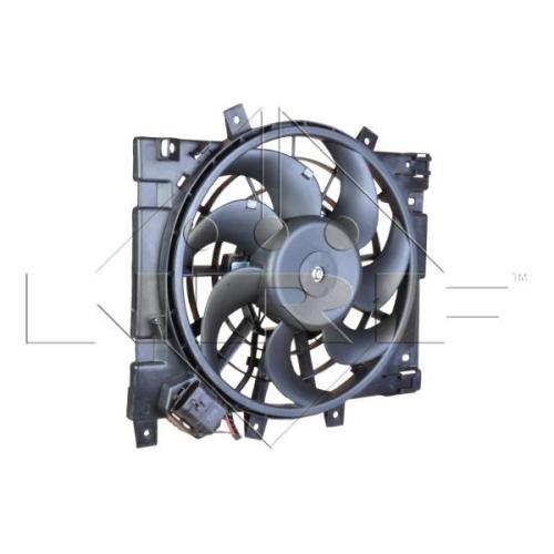 Ventilator radiator GMV Opel Astra H (L48), Zafira B (A05) Nrf 47310