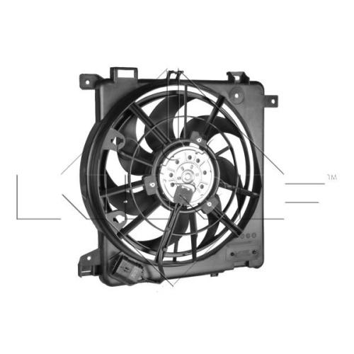 Ventilator radiator GMV Opel Astra H Gtc (L08), Astra H Caroserie (L70), Zafira B (A05) Nrf 47622