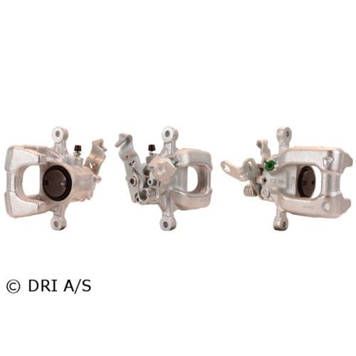 Etrier frana Audi A3 Cabriolet (8p7); Seat Altea (5p1); Vw Golf 6 (5k1), Golf Plus (5m1, 521), Jetta 4 (162, 163), Dri 4196910, parte montare : Punte Spate, Stanga, Fata
