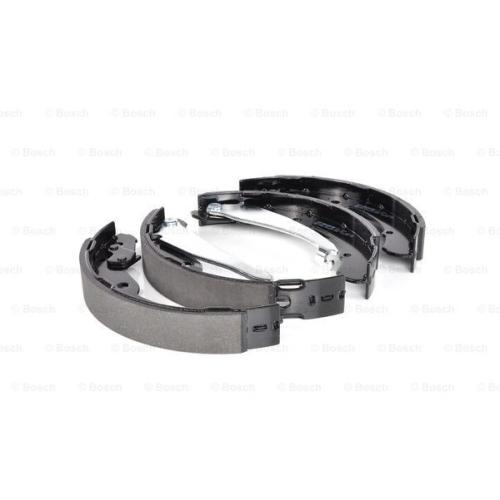 Set saboti frana Bosch 0986487555, parte montare : punte spate