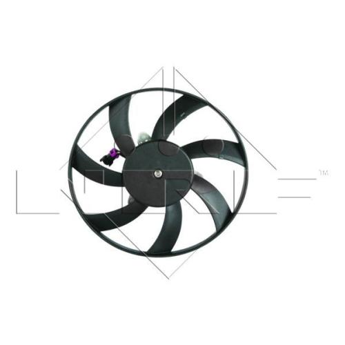 Ventilator radiator GMV Seat Cordoba (6k), Ibiza 2 (6k), Inca (6k9), Toledo 1 (1l); Vw Caddy 2 (9k9a), Polo Classic/Variant (6kv) Nrf 47417