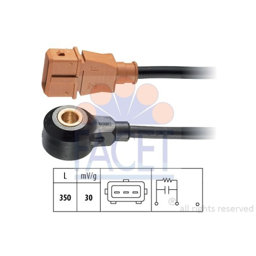 Senzor management motor, Senzor batai Facet 93064