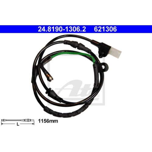 Senzor uzura placute frana Ate 24819013062, parte montare : Punte spate