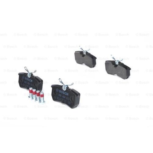 Set placute frana Bosch 0986494011, parte montare : Punte Spate