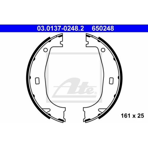 Set saboti frana mana Bmw Seria 3 (E36), Z1, Z3 (E36) Ate 03013702482