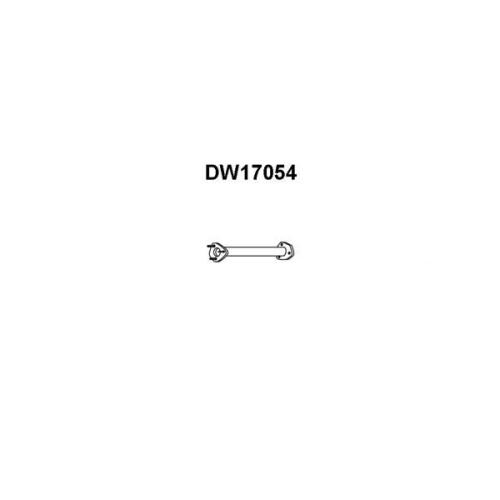 Racord evacuare Daewoo Lanos (Klat), Veneporte DW17054, parte montare : Central