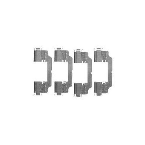 Set accesorii placute frana Delphi LX0475, parte montare : Punte Spate