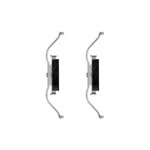 Set accesorii placute frana Delphi LX0490, parte montare : Punte Fata