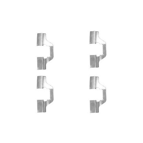 Set accesorii placute frana Delphi LX0492, parte montare : Punte Spate
