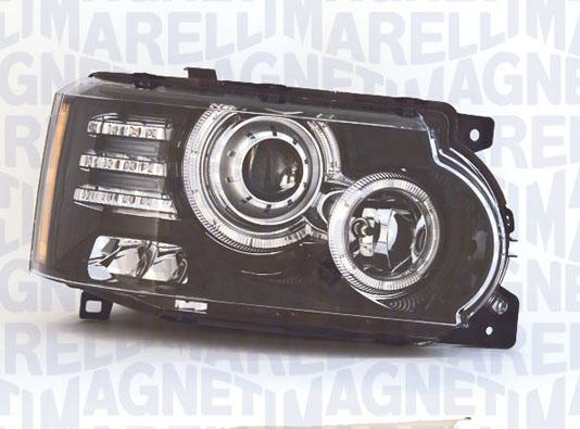 Far Land Rover Range Rover 3 (Lm) Magneti Marelli 712472701129, parte montare : Stanga, Bi-Xenon