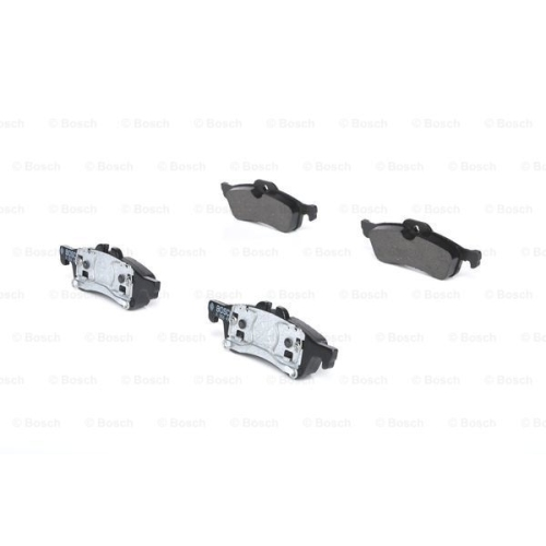 Set placute frana Bosch 0986494063, parte montare : Punte Spate