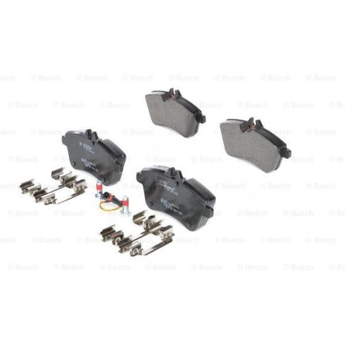 Set placute frana Bosch 0986494085, parte montare : Punte Fata
