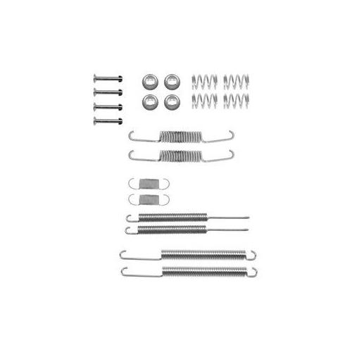 Set accesorii reparatie saboti frana Delphi LY1098, parte montare : Punte Spate