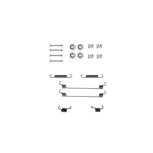 Set accesorii reparatie saboti frana Delphi LY1112, parte montare : Punte Spate