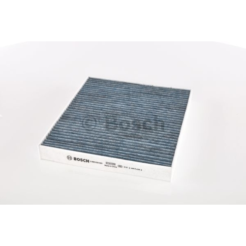 Filtru polen, habitaclu Bosch 0986628525, Efect antialergic, Carbon Activ