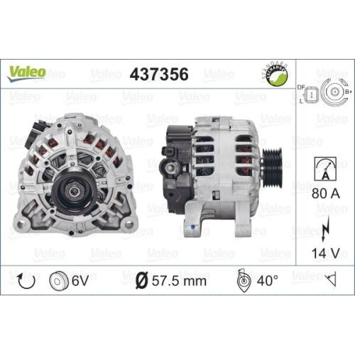 Alternator Valeo 437356