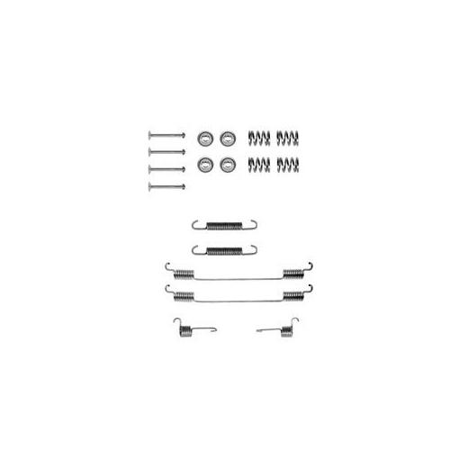 Set accesorii reparatie saboti frana Delphi LY1122, parte montare : Punte Spate