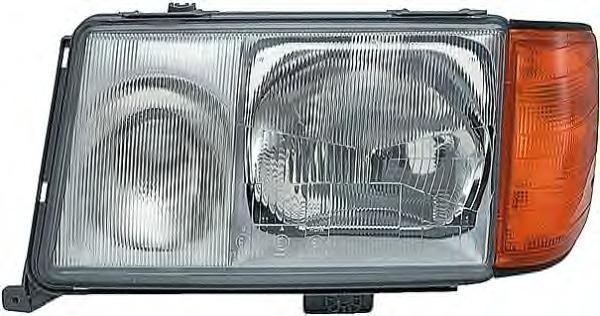 Far Mercedes Limuzina (W124) Magneti Marelli 710301073306, parte montare : Dreapta, Halogen