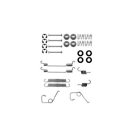 Set accesorii reparatie saboti frana Delphi LY1131, parte montare : Punte Spate