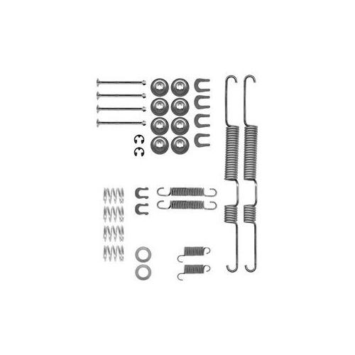 Set accesorii reparatie saboti frana Delphi LY1191, parte montare : Punte Spate