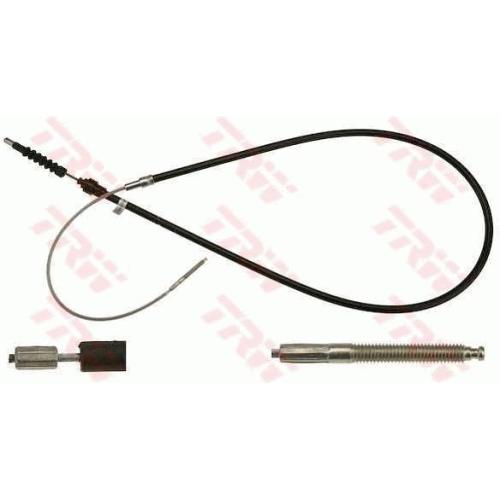 Cablu frana mana Vw Corrado (53i), Golf 3 (1h1), Vento (1h2), Trw GCH2329, parte montare : Stanga/ Dreapta, Spate