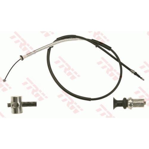 Cablu frana mana Fiat Stilo (192), Trw GCH104, parte montare : Stanga, Spate