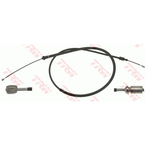 Cablu frana mana Citroen Berlingo (B9/ Mf); Peugeot Partner (5), Trw GCH1695, parte montare : Stanga, Spate