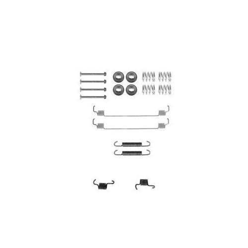 Set accesorii reparatie saboti frana Delphi LY1261, parte montare : Punte Spate