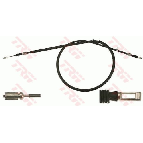 Cablu frana mana Audi 80 (8c, B4), 80 Avant (8c, B4), Trw GCH1772, parte montare : Stanga/ Dreapta