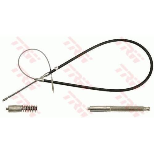 Cablu frana mana Vw Golf 3 (1h1), Vento (1h2), Trw GCH2324, parte montare : Stanga/ Dreapta, Spate