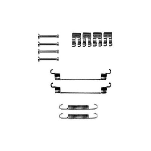 Set accesorii reparatie saboti frana Delphi LY1267, parte montare : Punte Spate