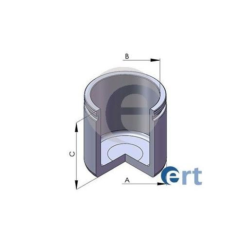 Piston etrier frana Ert 150695C, parte montare : Punte Fata