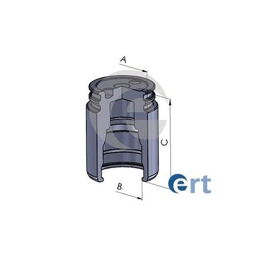 Piston etrier frana Ert 150763C, parte montare : Punte Spate