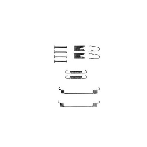 Set accesorii reparatie saboti frana Delphi LY1291, parte montare : Punte Spate