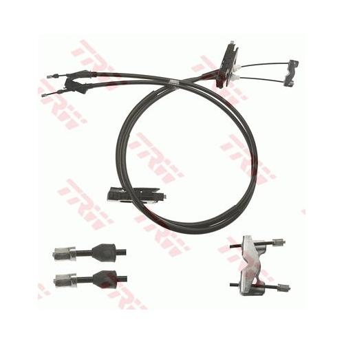 Cablu frana mana Ford Focus (Daw, Dbw), Trw GCH3019, parte montare : Central