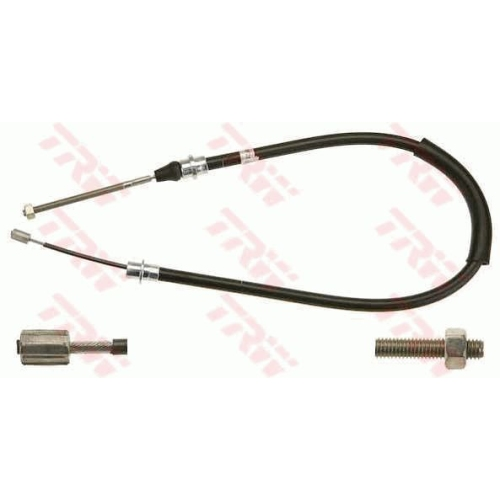 Cablu frana mana Peugeot 406 (8b), Trw GCH2566, parte montare : Stanga, Spate