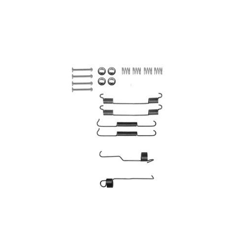 Set accesorii reparatie saboti frana Delphi LY1320, parte montare : Punte Spate