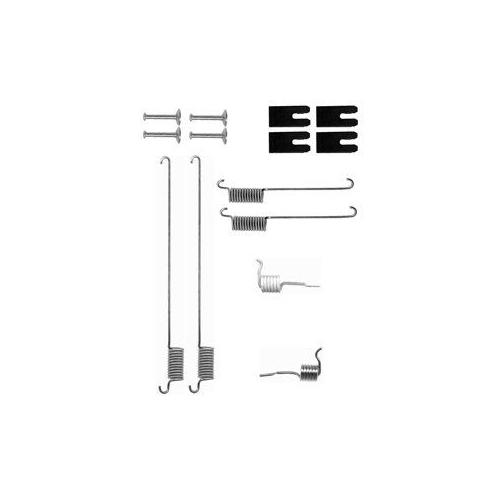 Set accesorii reparatie saboti frana Delphi LY1323, parte montare : Punte Spate