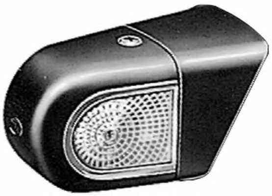 Lampa gabarit Mercedes Lk/Ln2, Mk, Sk, T2/Ln1 Hella 2XS004237301, parte montare : Dreapta