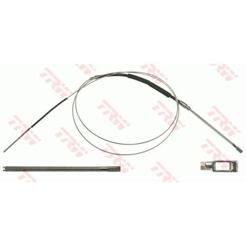 Cablu frana mana Mini Mini (R50, R53), Mini (R56), Mini Cabriolet (R52), Trw GCH2636, parte montare : Dreapta, Spate