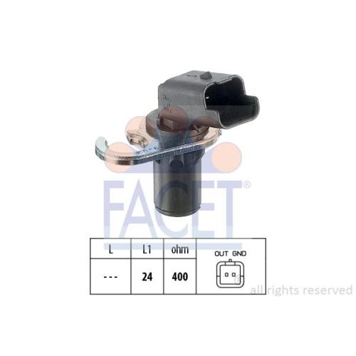 Senzor turatie, Senzor pozitie arbore cotit Facet 90293