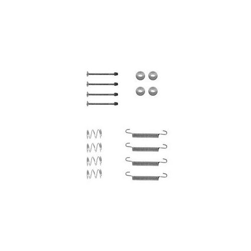 Set accesorii reparatie saboti frana mana Delphi LY1135, parte montare : Punte Spate