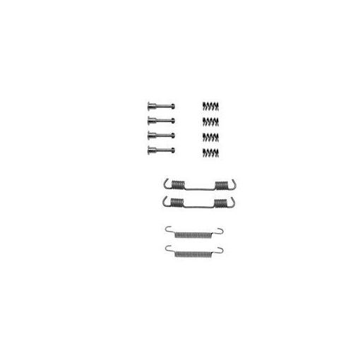Set accesorii reparatie saboti frana mana Delphi LY1194, parte montare : Punte Spate