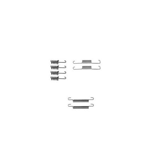 Set accesorii reparatie saboti frana mana Delphi LY1258, parte montare : Punte Spate