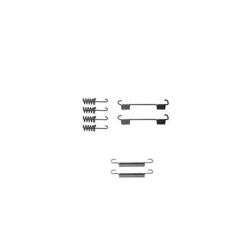 Set accesorii reparatie saboti frana mana Delphi LY1259, parte montare : Punte Spate