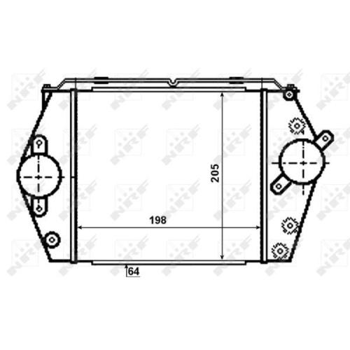 Radiator intercooler Nrf 30471